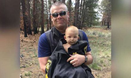 Father sentenced after missing baby found in woods with cracked skull, meth in system