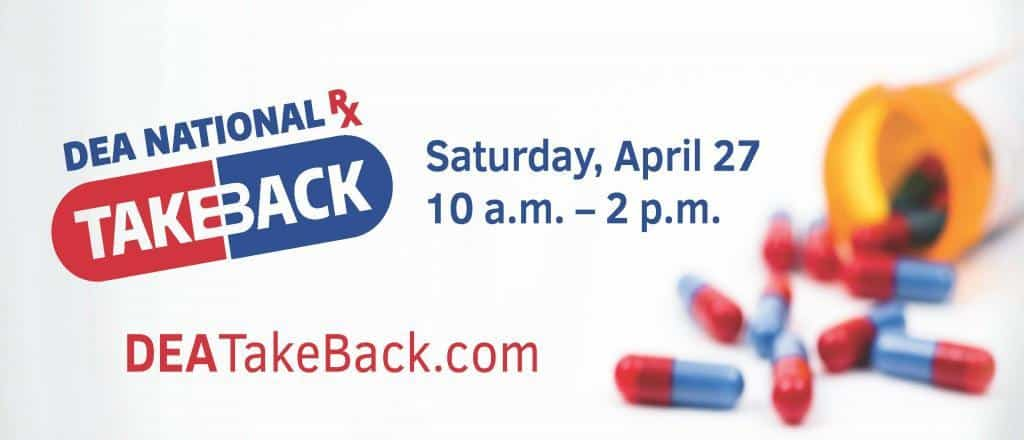 National Prescription Drug Take Back Day 2019