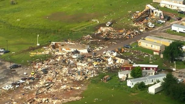 Search efforts underway after tornadoes tear through Ohio, leaving widespread damage
