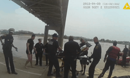Caught on camera: Man resists being rescued from river by Cincinnati Police