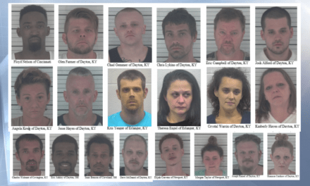 Six month drug investigation in Dayton, Kentucky yields 20 arrests